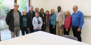 Venue à Viroflay en novembre 2019 de notre coordonnateur local Kassim Touré ainsi que d'une délégation de la Förderverein Kolokani