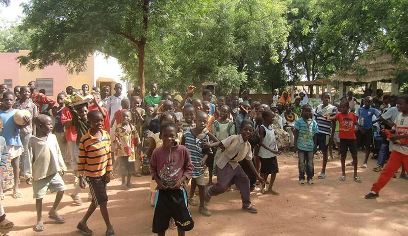 Projet de solidarité- chantier de jeunes Kolokani 2007